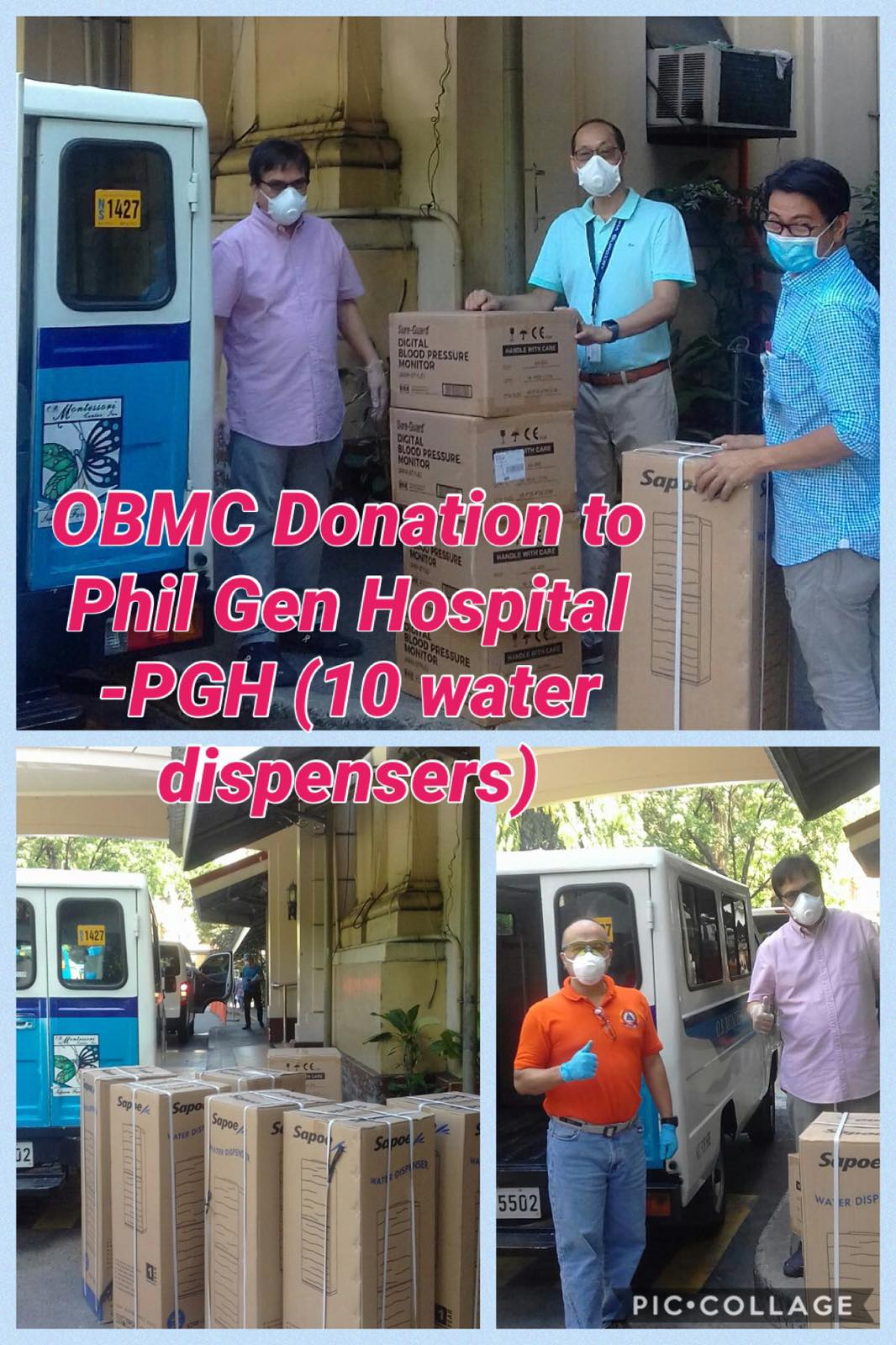 Operation Brotherhood donates to Philippine General Hospital